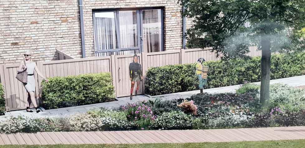 Property developer trolls residents with racist hoardings